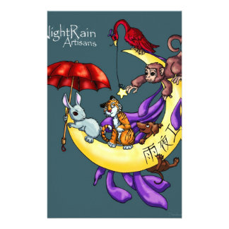 Night Rain Artisans Stationery