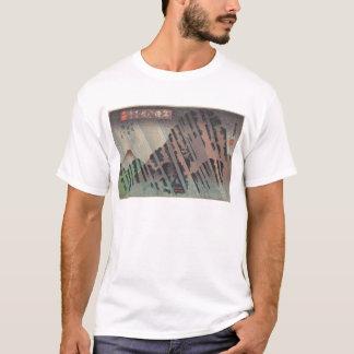 Night Rain on Oyama, c.1830 T-Shirt