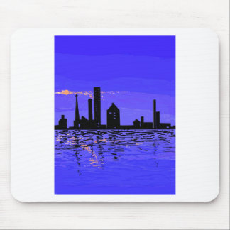 Night Reflections on multiple products Mouse Pad