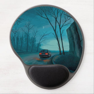 Night Ride Gel Mouse Pad