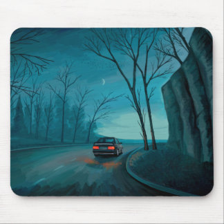 Night Ride Mouse Pad