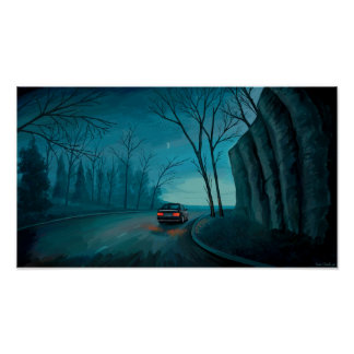 Night Ride Print