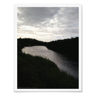 """Night River"" Photo Print"