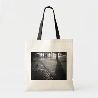 Night Romance - Central Park East - New York City Canvas Bag