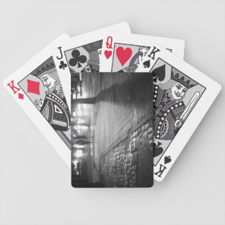 Night Romance - Central Park East - New York City Bicycle Playing Cards