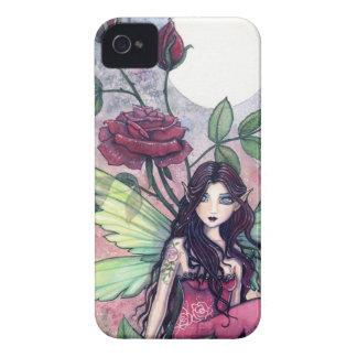 Night Rose Fantasy Fairy Art iPhone Case iPhone 4 Cover