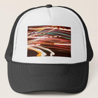 night rush trucker hat
