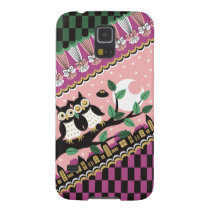 Night scene and owl (Owl and night view) Galaxy S5 Cover