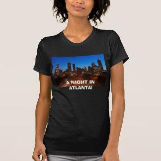 night-scene-of-atlanta-downtown-overlook, A NIG... T Shirt