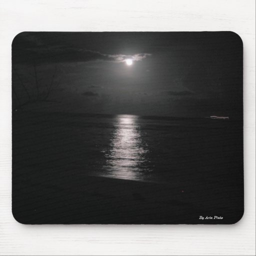 Night Sea Mouse Pads