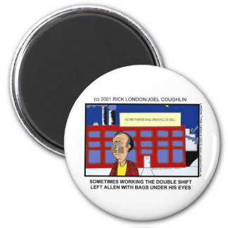 Night Shift Funny Mugs Tees Cards & Gifts Magnet