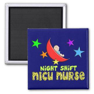 Night Shift NICU NURSE Gifts Magnet