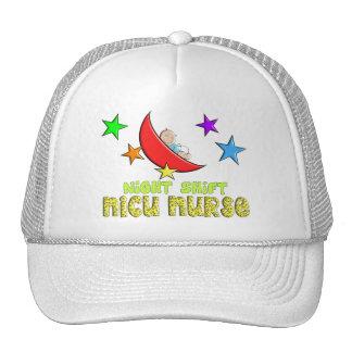 Night Shift NICU NURSE Gifts Trucker Hat