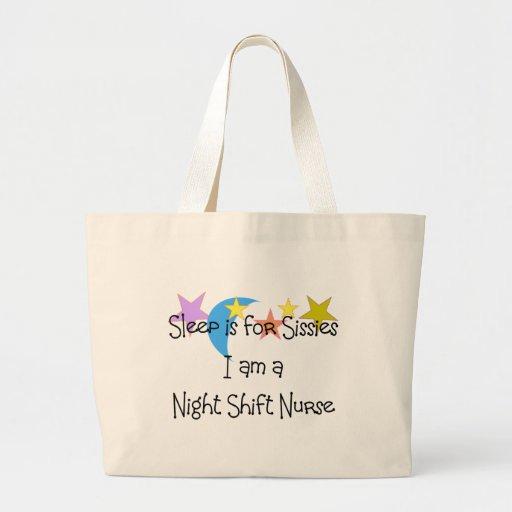 Night Shift Nurse Gifts Large Tote Bag