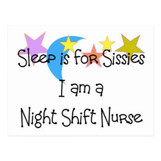 Night Shift Nurse Gifts Postcard