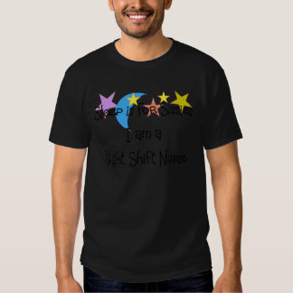 Night Shift Nurse Gifts Tee Shirt
