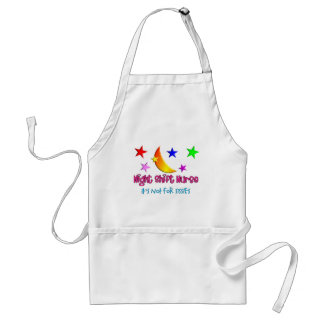 """Night Shift Nurse """"It's Not For Sissies"""" Adult Apron"""