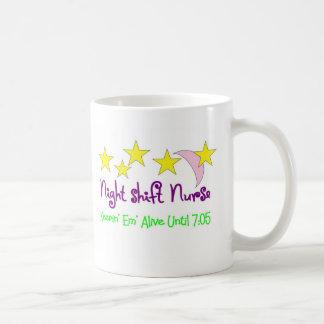 Night Shift Nurse Keepin Em alive until 7:05 Coffee Mug