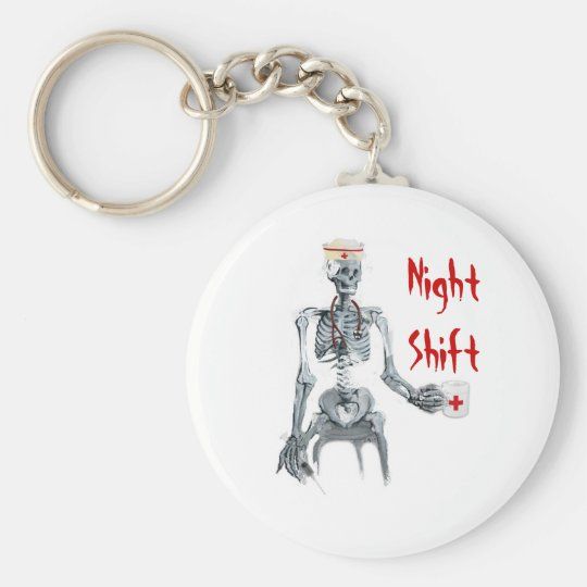 Night Shift Nurse Keychain