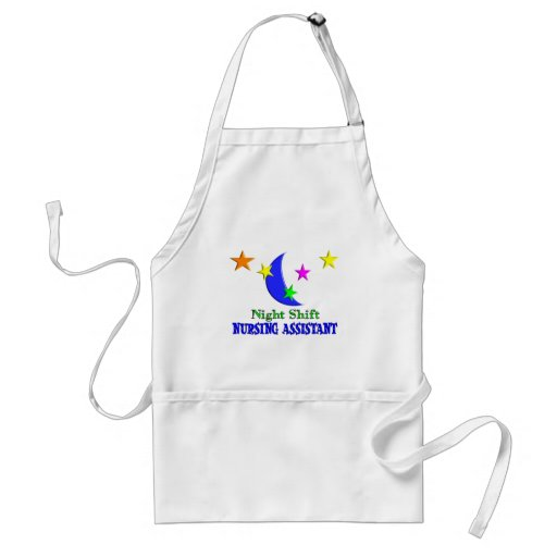 Night Shift Nursing Assistant Aprons