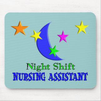 Night Shift Nursing Assistant Mouse Pad