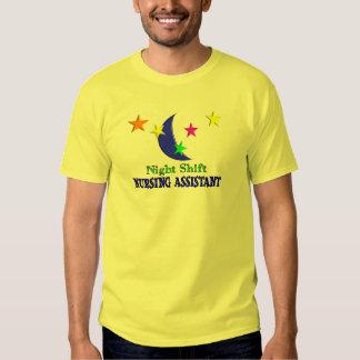 Night Shift Nursing Assistant Tee Shirt