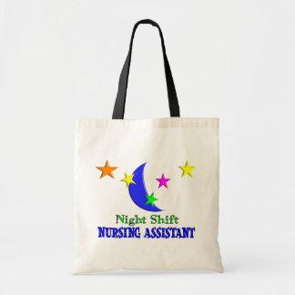 Night Shift Nursing Assistant Tote Bag