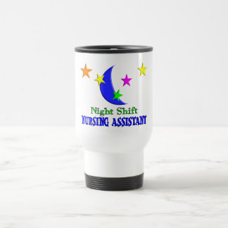 Night Shift Nursing Assistant Travel Mug