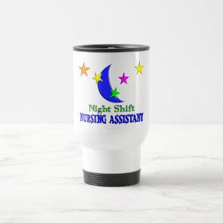 Night Shift Nursing Assistant Travel Mug