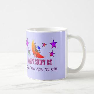 Night Shift RT MOON Stick Man Coffee Mug