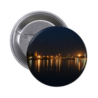Night shot in Brindisi Puglia Italy Buttons