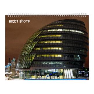 night shots calendar