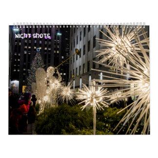 night shots ii calendar