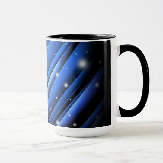 Night Sky Abstract Coffee Mug