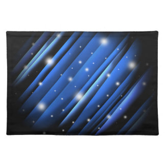 Night Sky Abstract Place Mats