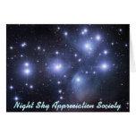Night Sky Appreciation Society - Card