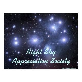 Night Sky Appreciation Society - Customized Postcard