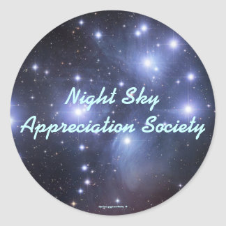 Night Sky Appreciation Society - Sticker