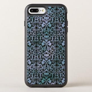 Night Sky Batik Shibori Blue Damask Mottled OtterBox Symmetry iPhone 8 Plus/7 Plus Case