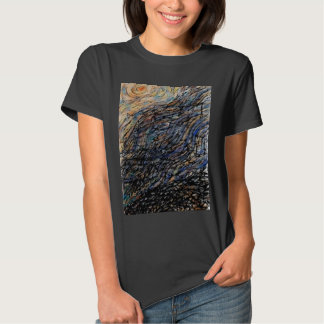 Night Sky Black T-shirt