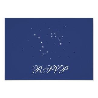 Night Sky Constellations RSVP Card