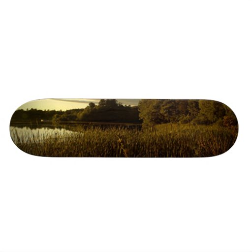 Night Sky I - Glory at Dusk Custom Skateboard