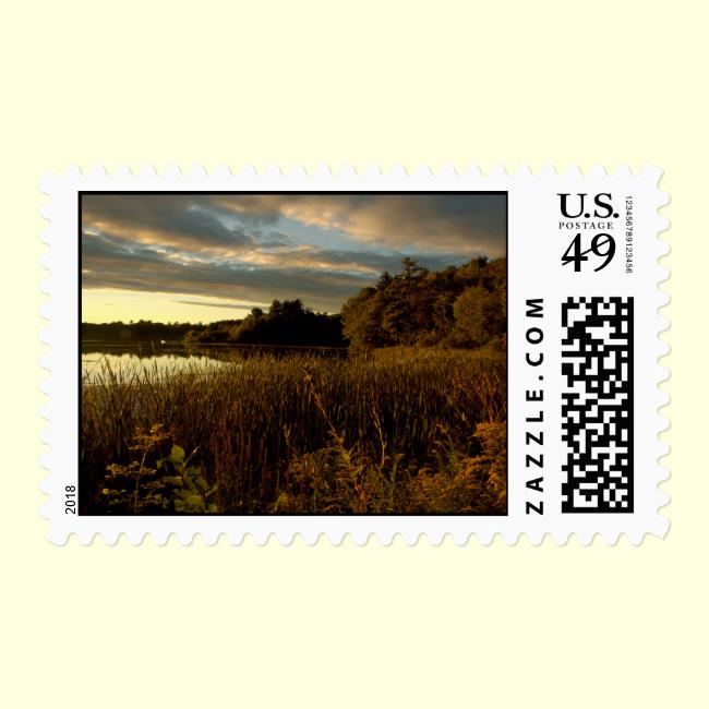 Night Sky I - Glory at Dusk Stamp