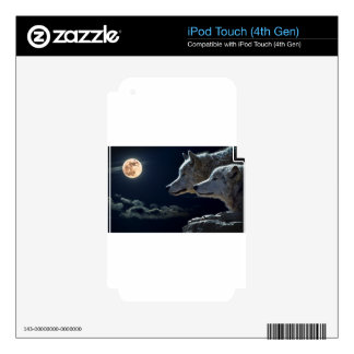Night Sky Lights Moon Stars Astronomy Space iPod Touch 4G Skin