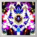 Night Sky Mandala 1 Print
