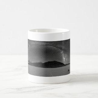 Night Sky Milky Way Panorama of Racetrack Playa Classic White Coffee Mug