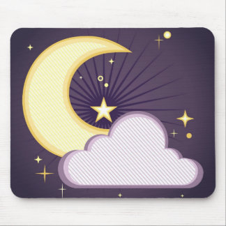 Night Sky Mouse Pad