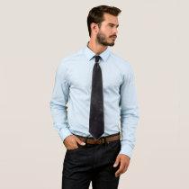 Night sky neck tie