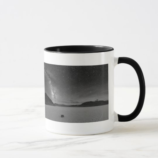 Night Sky Panorama Death Valley Mug
