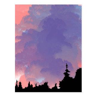 Night-sky Postcard